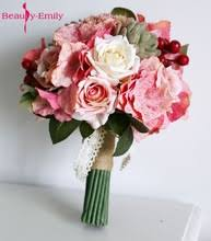 wedding flowers for bridesmaids compare prices on 10 inch wedding bouquet online shopping buy low