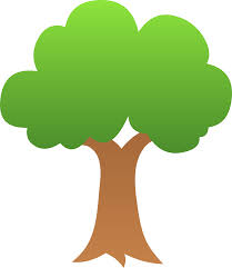 green tree design free clip