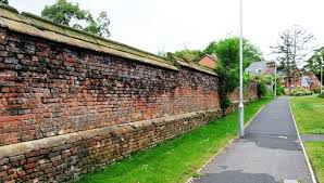 plans for nantwich walled garden labelled