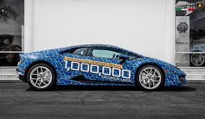 lamborghini showroom lamborghini dealer in california celebrates 1 million likes on