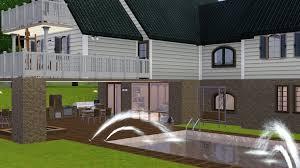 houses walkout basement modern diy art designs house plans 34068