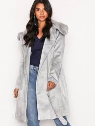 light grey wool coat vidahlia wool coat noos vila light gray jackets clothing