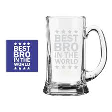 Best Mug by Buy Beer Mugs For Brother Engraved Best Brother In The World Beer