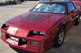 iroc z28 camaro for sale 1989 chevrolet camaro iroc z 2dr hatchback in tx auto