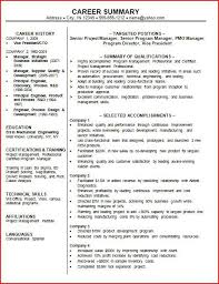 exles of professional resume exles of professional qualifications for resume exles of