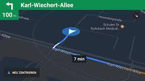 Google Maps Navigation Google Maps Navigiert Auch Offline Heise Online