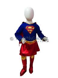 rent or buy supergirl kids girls fancy dress costume online in india