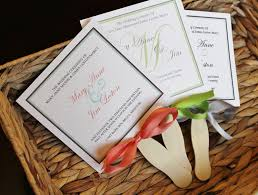 Fan Style Wedding Programs Wedding Program Fans