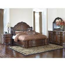 Art Van Bedroom Sets Lexington Regents Row Coventry Leather Sleigh Bed King Bed