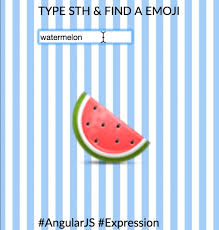 watermelon emoji 100 days of emojis and interactive web design u2014 yining shi