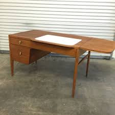 drexel coffee table drexel profile mid century desk k72 4 with drop leaf and chair mcm
