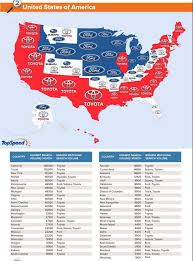 interesting infographic shows most googled car brands in the world