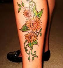 100 sunflowers tattoo designs 45 inspirational sunflower