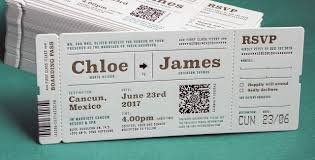 ticket wedding invitations wedding invitations letterpress wedding invites from jukebox