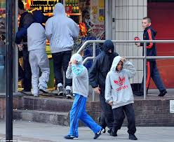 machester riots 2011 how looters as as 9 pillaged city