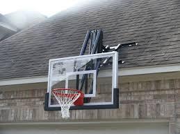 Indoor Wall Mounted Basketball Hoop For Boys Room Roof King Garage Basketball Hoop U0026 Backboard Combo For The Home