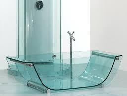 bathtubs trendy glass bathtub design glass bathroom wall cabinet