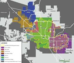 Map Of Greater Phoenix Area by Providing Public Transportation Alternatives For The Greater