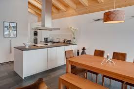 Kitchen With Dining Table Chalet Zora Zermatt U2022 Alpine Guru