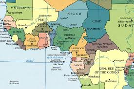 west africa map quiz of western countries and capitals