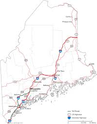 map of maine cities map of maine