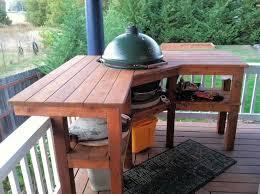 kamado joe grill table plans 41 best kamado joe schmoe images on pinterest kamado joe backyard