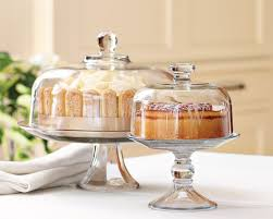 small cake stand glass domed cake plate punch bowl williams sonoma