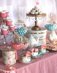 Table Party Decorations Tea Party Dessert Display Eyecandycelebrations Com My Eye