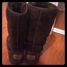 ugg s kaleen boot 67 ugg boots chocolate brown uggs comes with box from