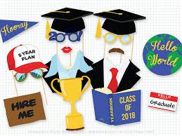 hello graduation graduation photo booth props photobooth props college