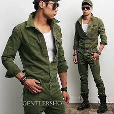 mens one jumpsuit mens fashion look khaki one jumpsuit overall jean