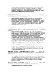 Resume Of Hr Recruiter Computer Skill Examples For Resume Dissertation Rewrite Cover
