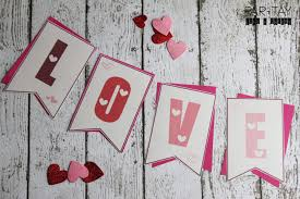 valentines banner free printable valentines banner party like a cherry