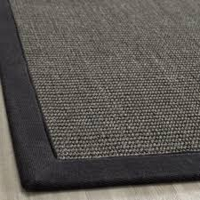 Overstock Com Rugs Runners Hand Woven Natural Fiber Serenity Charcoal Sisal Rug 3 U0027 X 5