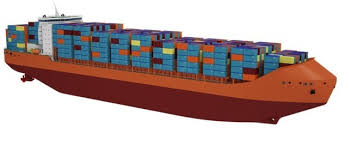 bureau container cniimf presents conceptual design for arctic boxship photo