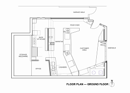 charming shop house floor plans gallery best inspiration home
