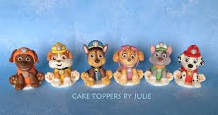 Custom Cakes by Julie Paw Patrol Inspired Toppers