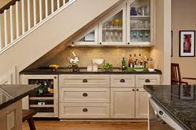 Home Bar Interior by Awesome Mini Home Bar Under Stairs For Chic Space To Have A Drink