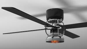 Trendy Design Industrial Looking Ceiling Fans Home Design Ideas