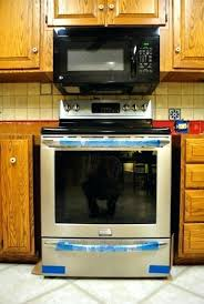 over range microwave no cabinet over stove microwave cabinet tafifa club