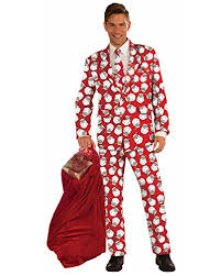 christmas suits step up in a men s christmas sweater suit costumes