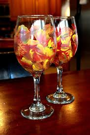 thanksgiving wine glasses table decorating ideas for thanksgiving 2015 from ofmiceandmen