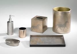 equestrian bath accessories unique wastebasket j fleet designs