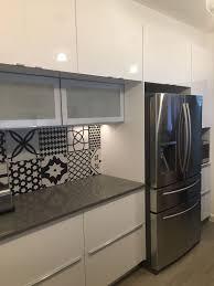 tin ceiling tiles backsplash cabinet remodels wood floor