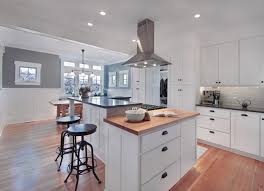 multi level kitchen island greenlake residence kitcehn craftsman kitchen seattle by