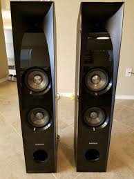 austin tx home theater samsung tw 5500 2 2 channel 350 watts bluetooth tower speakers