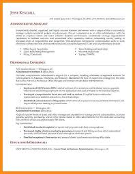 Resume Sample For Administrative Assistant 10 Samples Of Administrative Assistant Resume Azzurra Castle