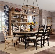 kincaid furniture homecoming 7 piece dining set with farmhouse leg