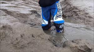 motocross gear boots mx gear mud fun youtube
