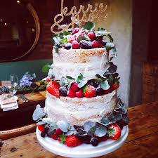 wedding cake recipes berry 104 best n a k e d ca k e s images on vanilla